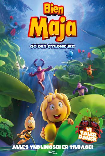 Bien Maja og det gyldne æg plakat